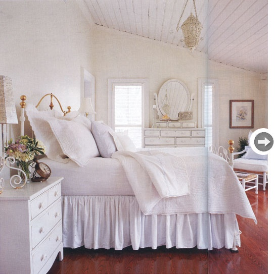 All White Bedroom My Style Pinterest