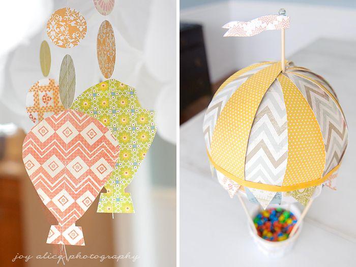 cutest hot air balloon baby shower pinterest