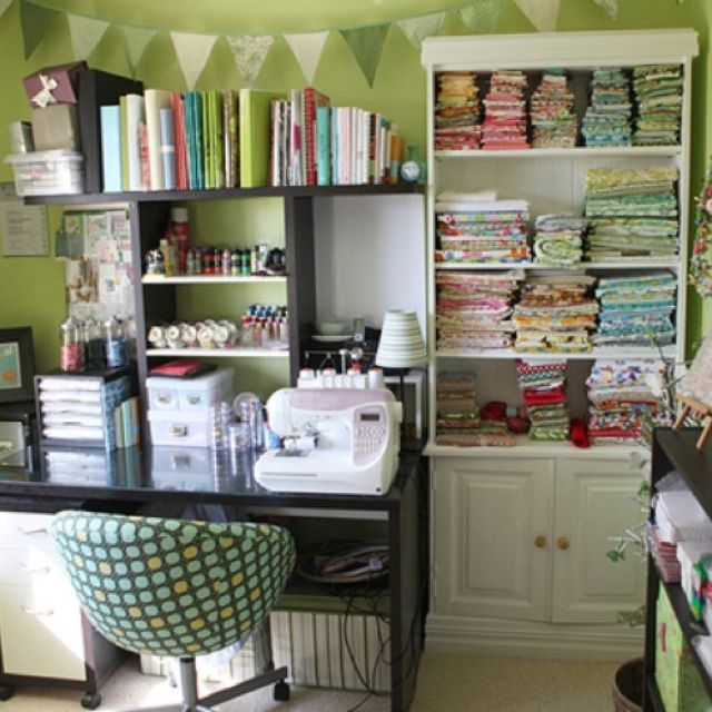 Small room crafts pinterest - Small space craft room model ...