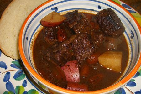 Beef Stew with Potatoes and Carrots | food-soups | Pinterest