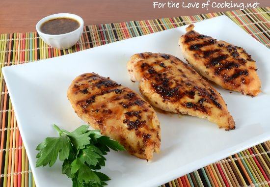 Grilled Honey Mustard Chicken Breasts | Food & Recipes | Pinterest