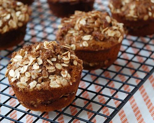 Pumpkin Cinnamon Streusel Muffins | Food - breakfast | Pinterest
