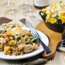 Crispy Cheesy Baked Rice Casserole | Pinterest Food Inspirations - Ho ...