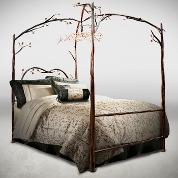 bed for my enchanted forest bedroom future home pinterest