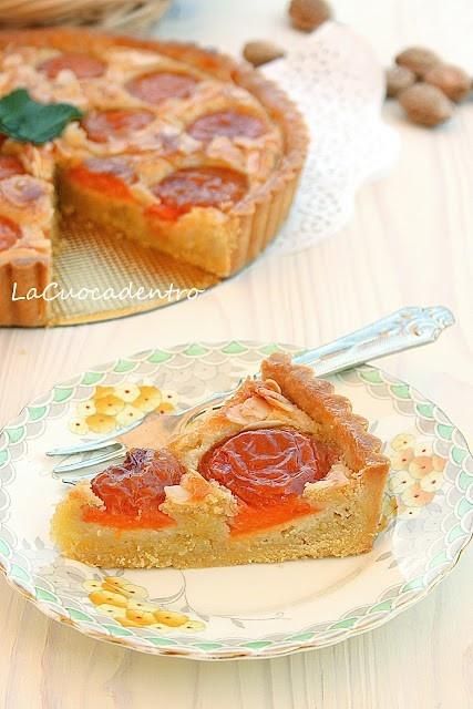 frangipane and apricot cake | Pies / Tart | Pinterest