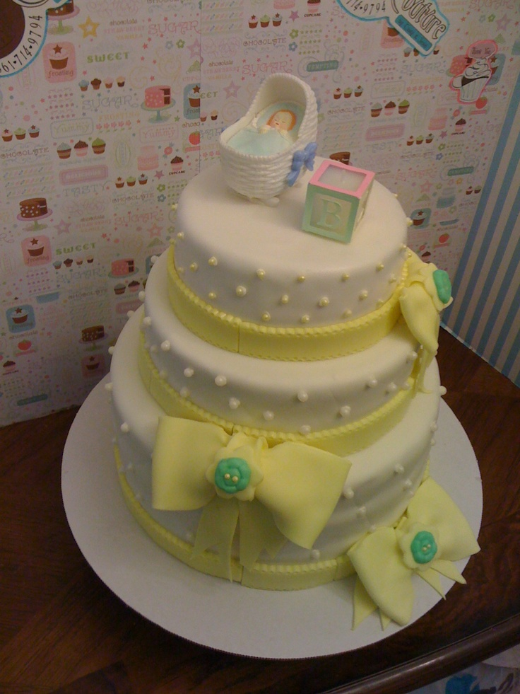 Baby Shower Cake | Cake Couture Cakes Until Organized ...