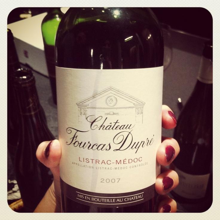 Un joli Bordeaux comme on sait si bien les faire! fruit croquant du Cabernet Franc...