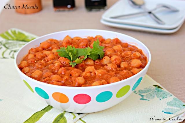 Chana Masala (Chickpeas Curry)   Food I Might Love   Pinterest