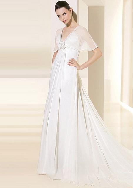 Pin by salih celebi on abiye modelleri evening dresses for Grecian wedding dress with sleeves