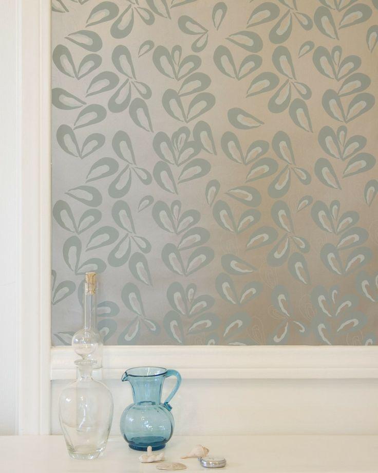 michelle wallpaper, smoked bluefish pate | Fabric, Wallpaper + Hardwa ...