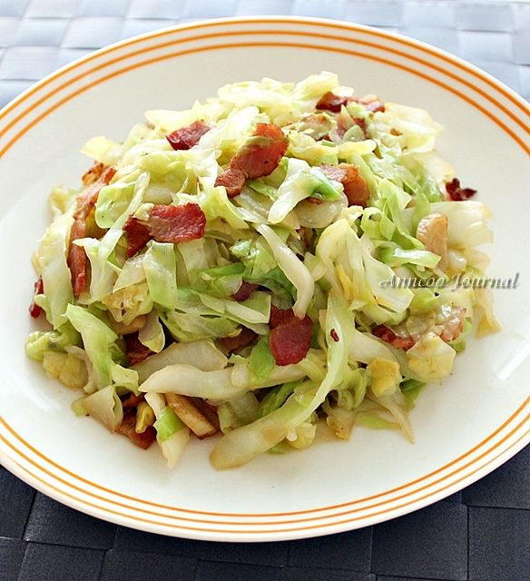 Haven't tried cabbage with bacon yet...I LOVE cabbage so I'll be ...