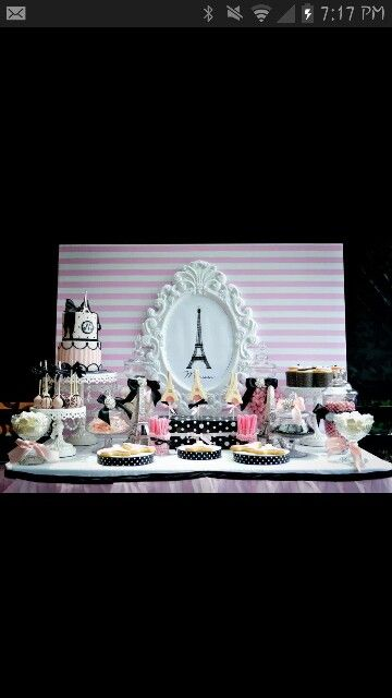 paris theme baby shower baby shower pinterest