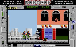RoboCop - Atari ST -1989