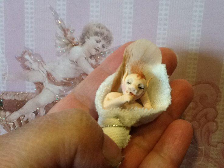 Sleeping baby elf | MAKE IT YOURSELF | Pinterest