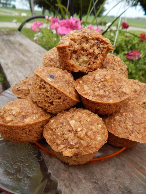 Peach Almond Oatmeal Muffins | Consider the Peel | Pinterest