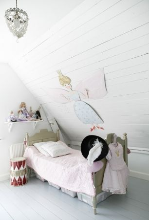 white kids room