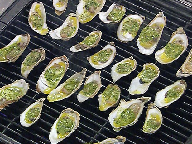 Grilled Food Recipes Grilling   Grilled Oysters Recipe : Emeril ...