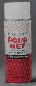 Oh, aqua net.