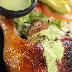 Peruvian Roasted Chicken with Aji Verde | Sunday Supper | Pinterest