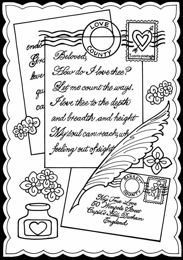 true love coloring pages - photo#12
