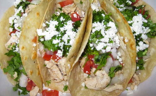 Fit Food: Tequila-Lime Chicken Soft Tacos