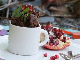 Dark Chocolate Pomegranate Granita : Recipes : Cooking Channel
