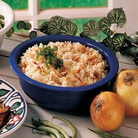 Basic Almond Rice Pilaf, Livestrong. Plan to add frozen peas, some ...