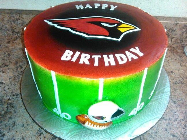 arizona cardinals cake