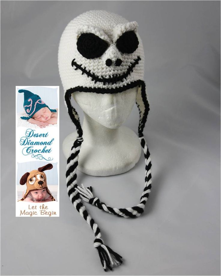 Jack Skellington Crochet Pattern Crochet Pinterest