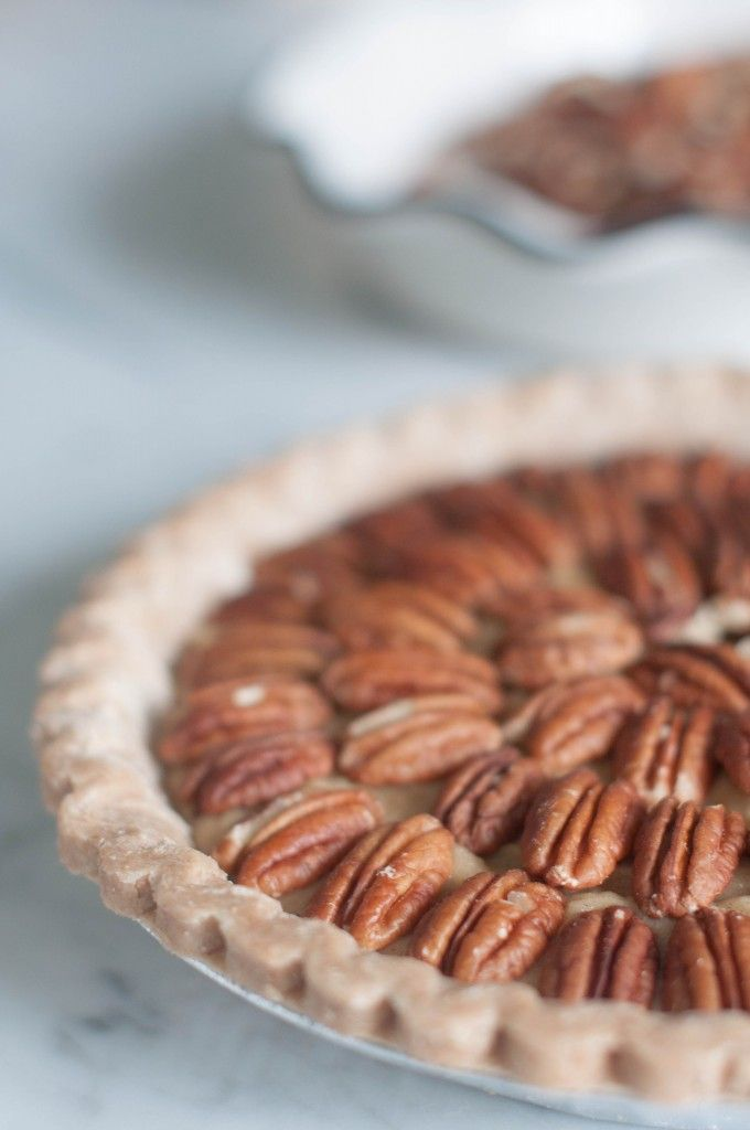 organic sweet potato pecan pie | (E D I B L E S) | Pinterest