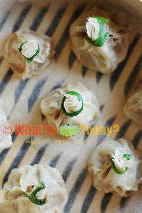 Himalayan Steamed Dumplings/ Momos | Something to Munch | Pinterest
