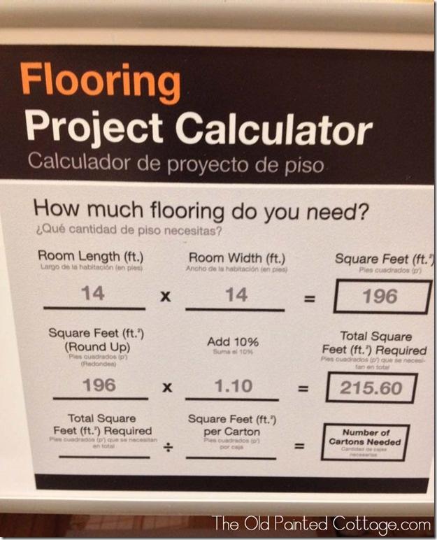 Flooring Calculator Tips Pinterest