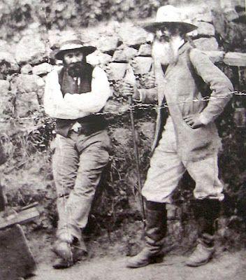 Cezanne and Pissarro