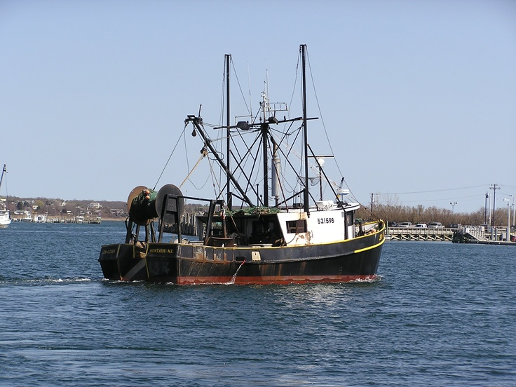 montauk fishing boat new york pinterest