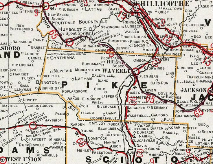 88 Best Historic Ohio County Maps Images On Pinterest
