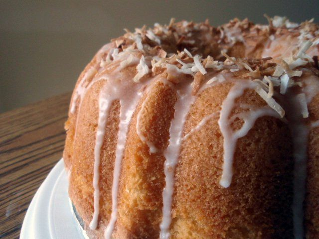 Coconut Sour Cream Pound Cake | Food & Drink | Pinterest