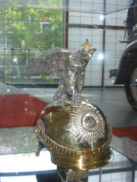 Kaiser wilhelm s helmet ii front