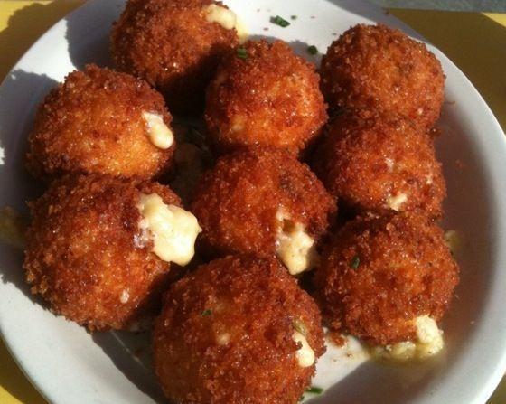 Fried Mac & Cheese Balls | Savory! | Pinterest