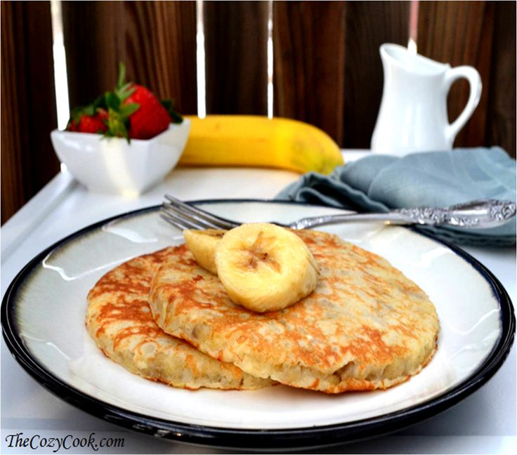 Banana Pancakes | Funtastic Foods! | Pinterest