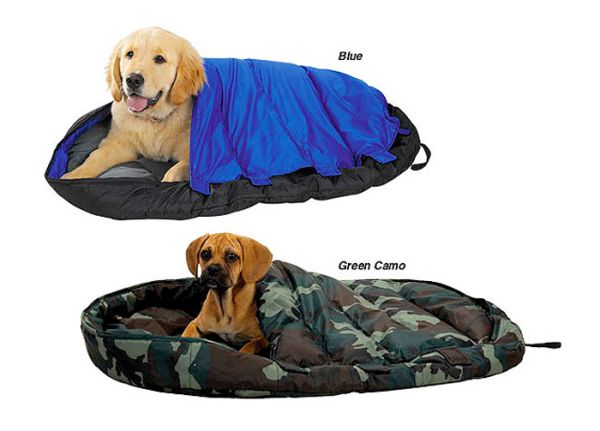 sleeping bags spoiled dogs dogs