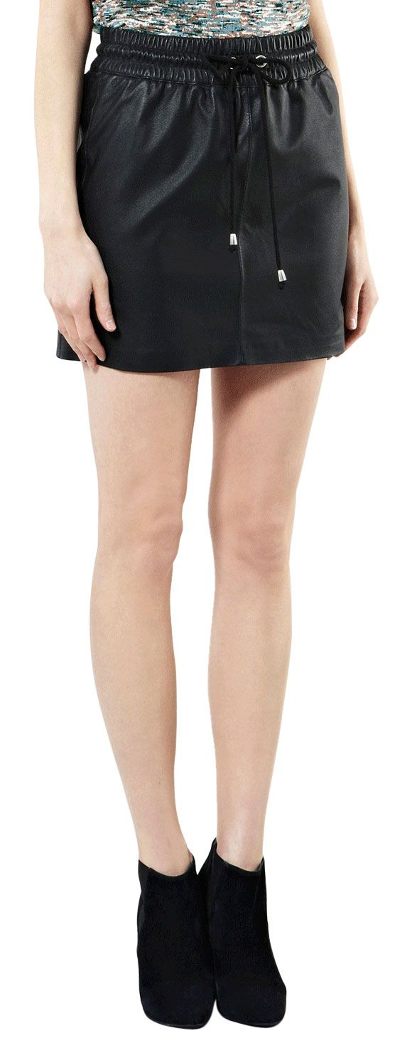 and comfy summer leather skirt leather skirt