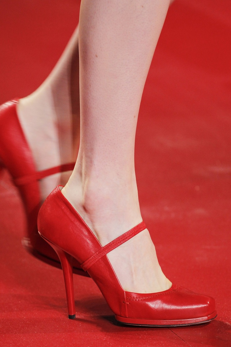 "Nina Ricci's mary Jane's remind me of Judy Garland's red shoes in ""the wizard of Oz"""
