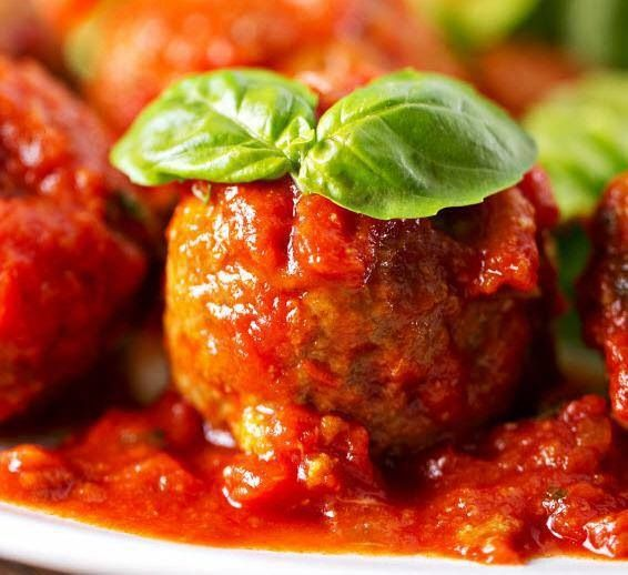 Spicy Meatball | Food & Drink | Pinterest