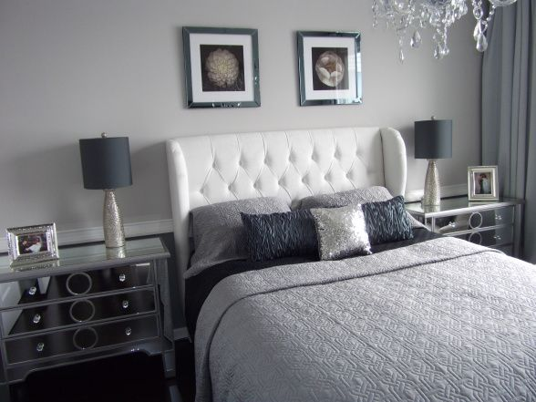 Grey theme teal for pop dream home pinterest - Grey themed rooms ...