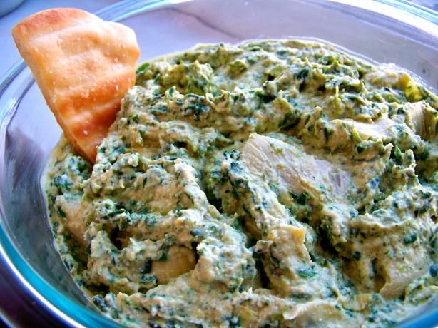 Spinach-Artichoke Hummus from Food.com! This is my fave snack, so good ...