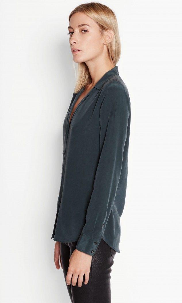 The Gillian Anderson Inspired Silk Shirt Edit