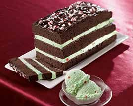 Frozen Peppermint and Chocolate Torte | Food and Drinks | Pinterest