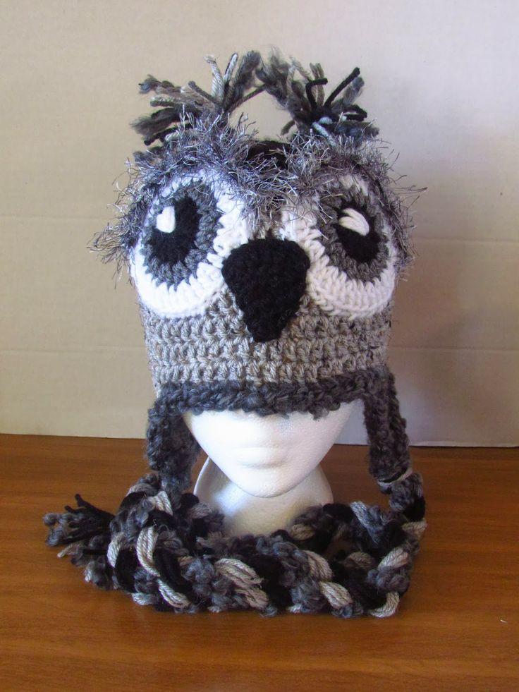 Free Crochet Pattern Owl Beanie : Owl Beanie ~ free pattern Crochet Love Pinterest