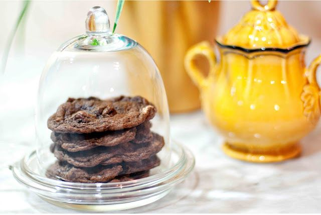 double chocolate chunk cookies | Yummy... sweets | Pinterest