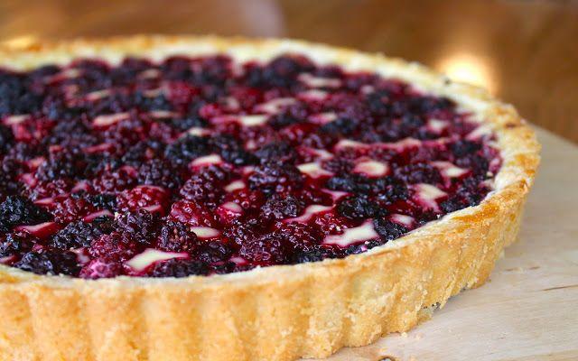 Blackberry Cheesecake Tart | Creative Desserts | Pinterest